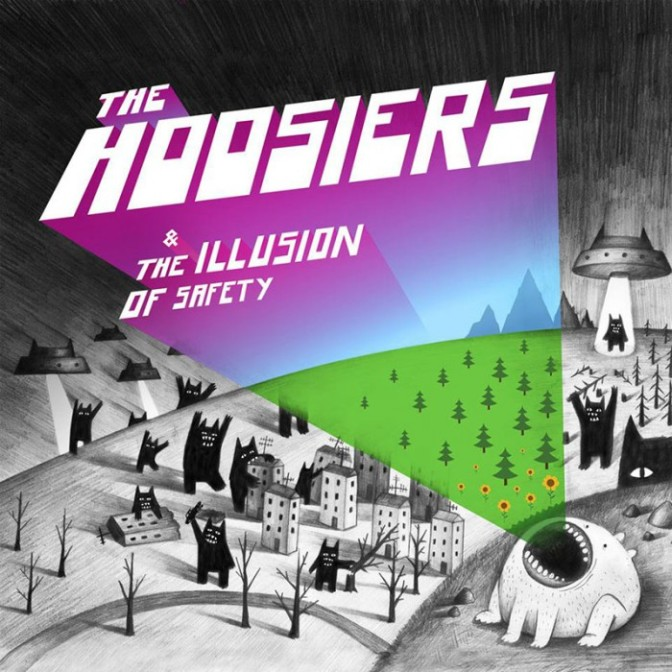 The Hoosiers, 2010. Illusion of safety. Album cover.