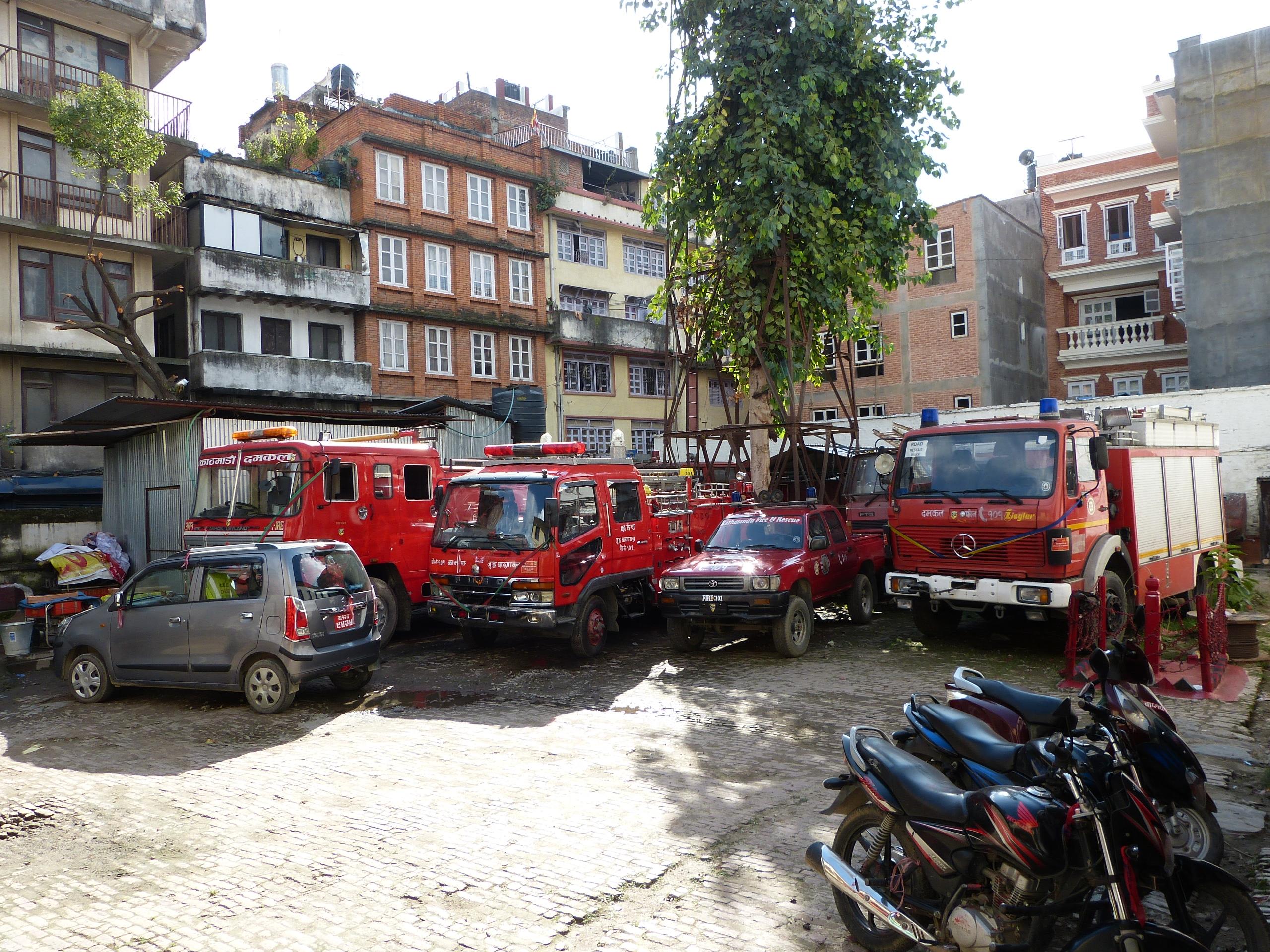 Juddah Fire Brigade KTM