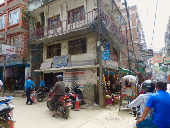 Thamel police information post
