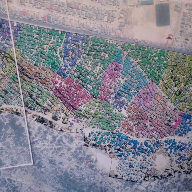 Aerial housing census – 2/2018, Monwabisi Park, Khayelitsha, Cape Town, South Africa
