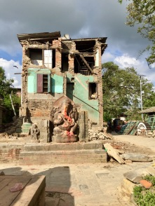 2015 earthquake traces – 10/2017, Panauti, Nepal